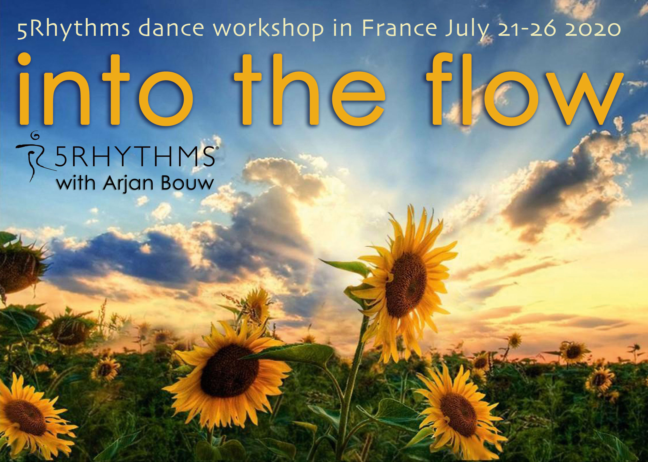 Arjan Bouw 5Rhythms dance holiday France 2020
